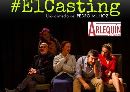 Portada de la actuación de la obra #El Casting que colabora con la asociación de neurofibromatosis