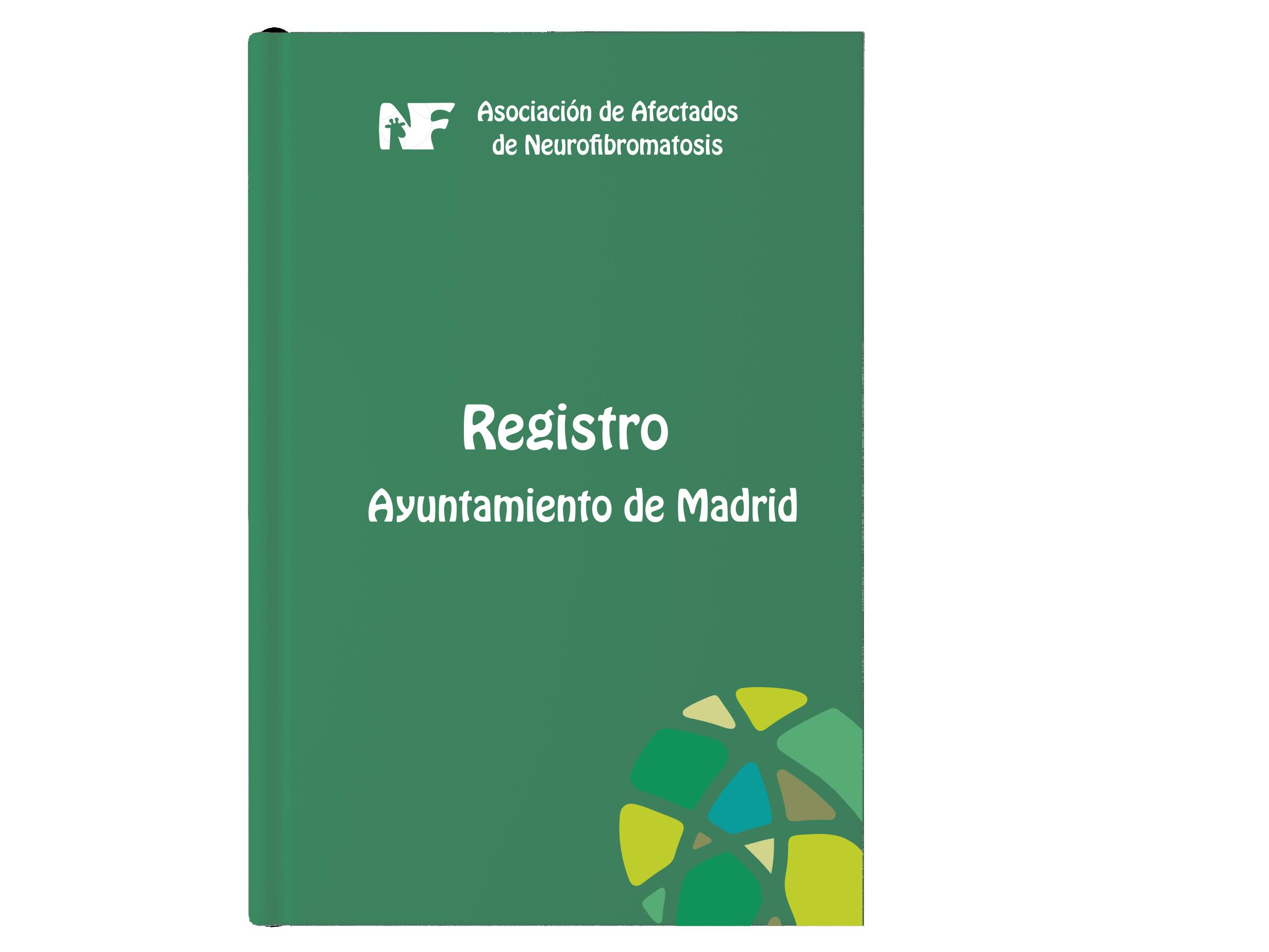 Registro de AANF en Ayto. Madrid